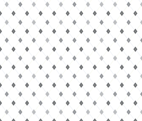 Mini Argyle: Gray & Pastel Confetti fabric by penina on Spoonflower - custom fabric