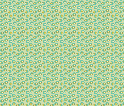 Star Bounce Lime fabric by sbd on Spoonflower - custom fabric