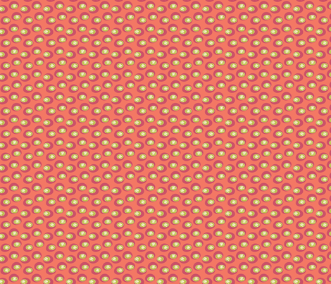 Star Bounce Melon fabric by sbd on Spoonflower - custom fabric