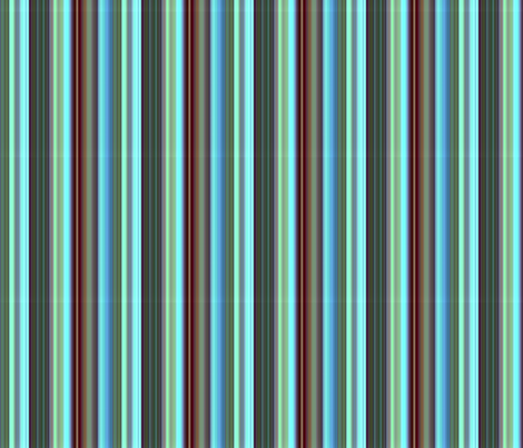sea foam, blue, chocolate, stripe fabric by paragonstudios on Spoonflower - custom fabric