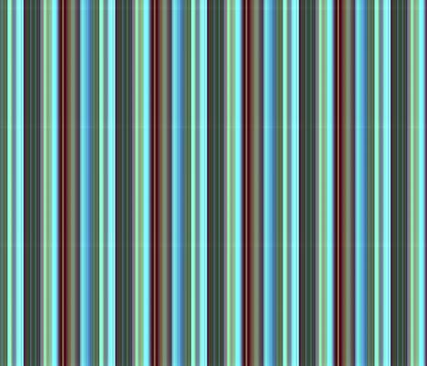 sea foam, blue, chocolate, stripe fabric by paragonstudios on Spoonflower - custom fabric