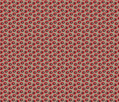 Star Bounce Red fabric by sbd on Spoonflower - custom fabric