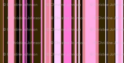 Pink camo stripe