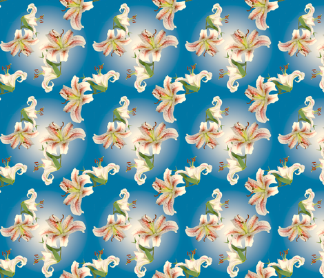 I-spy Lilies fabric by kaeledra on Spoonflower - custom fabric