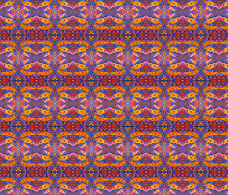 Texas Deco fabric by frances_hollidayalford on Spoonflower - custom fabric