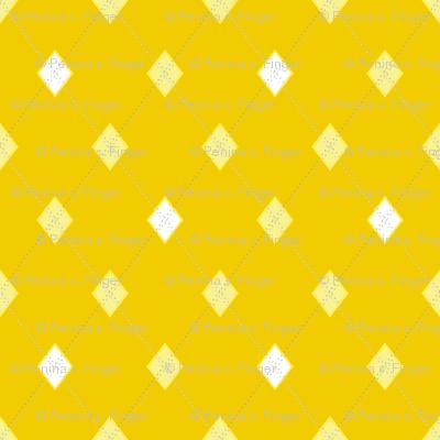 Mini Argyle: Yellows