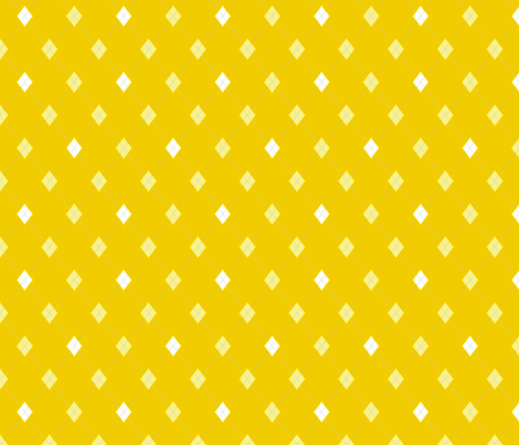 Mini Argyle: Yellows fabric by penina on Spoonflower - custom fabric