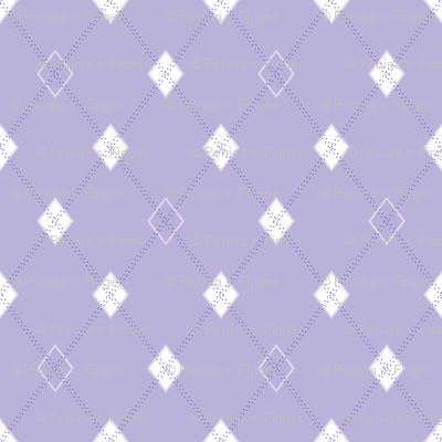 Mini Argyle: Lavender