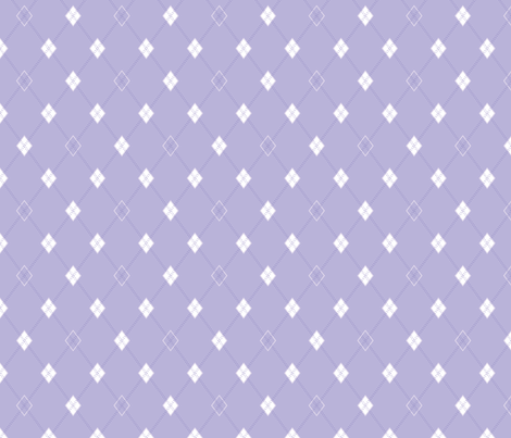 Mini Argyle: Lavender fabric by penina on Spoonflower - custom fabric