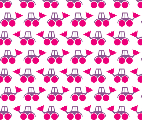 Girlie Bagger fabric by erbsenprinzessin on Spoonflower - custom fabric
