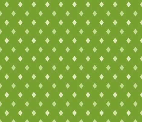 Mini Argyle: Greens fabric by penina on Spoonflower - custom fabric