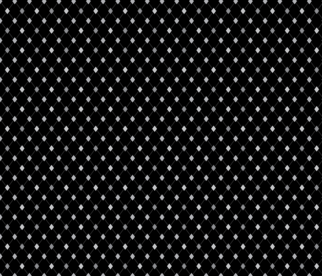 TEENY TINY Argyle: Black and Grays fabric by penina on Spoonflower - custom fabric