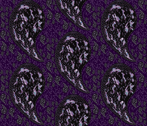 Paisley Mae fabric by gabzi on Spoonflower - custom fabric