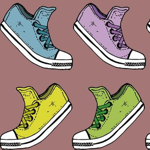 Colourful Converse