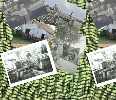 tractor_memories fabric by marcus09 on Spoonflower - custom fabric