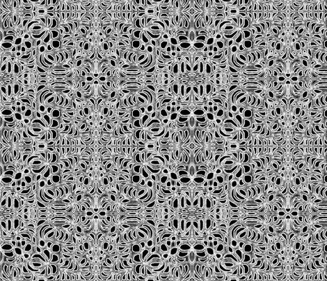 JamJax White Night fabric by jamjax on Spoonflower - custom fabric