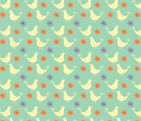 partridgeandbloom-ch fabric by leonajaeger on Spoonflower - custom fabric