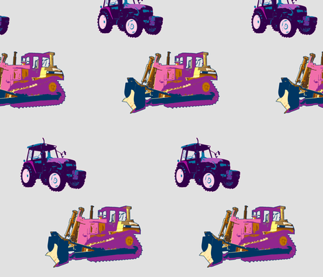 uni_tractors fabric by snork on Spoonflower - custom fabric