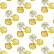 Golden Sea Shell 1