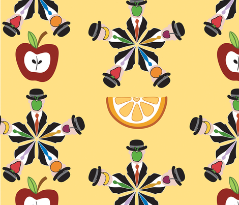 slice_of_magritte fabric by peppermintpatty on Spoonflower - custom fabric