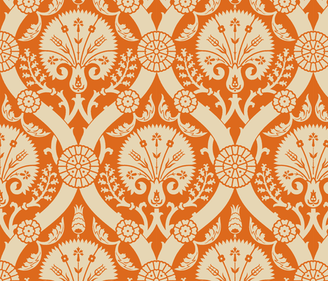 Damask VA3a fabric by muhlenkott on Spoonflower - custom fabric