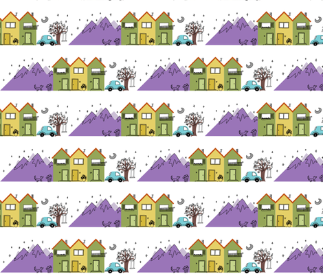 Home fabric by annabhall on Spoonflower - custom fabric