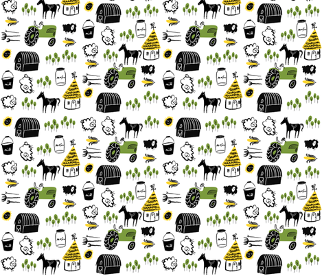 Provincial fabric by dwelldeep on Spoonflower - custom fabric