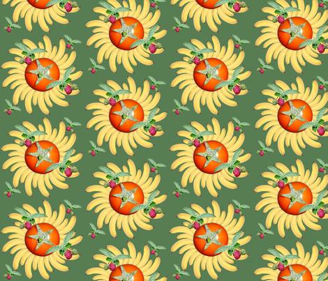 Fruit Flies on Fruit fabric by nancysgardenak on Spoonflower - custom fabric