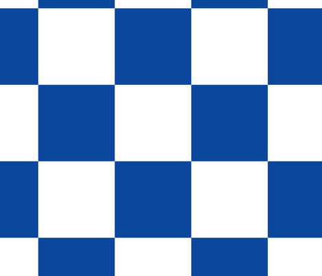 Blue White Checker Pattern fabric by consoneo on Spoonflower - custom fabric