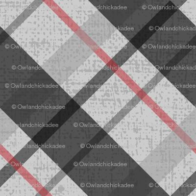 Diagonal Plaid - 1