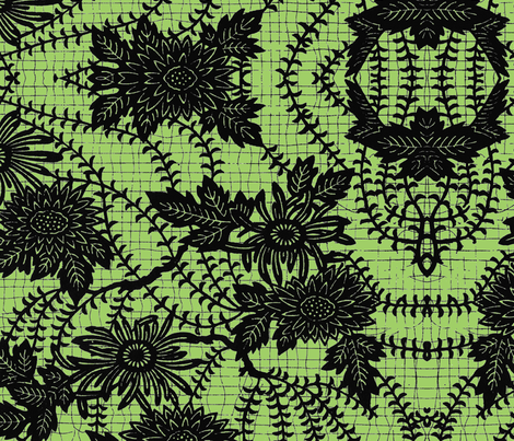 Weird Flowers fabric by paulamarie on Spoonflower - custom fabric