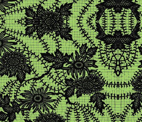 Weird Flowers fabric by paulamarie on Spoonflower - custom fabric