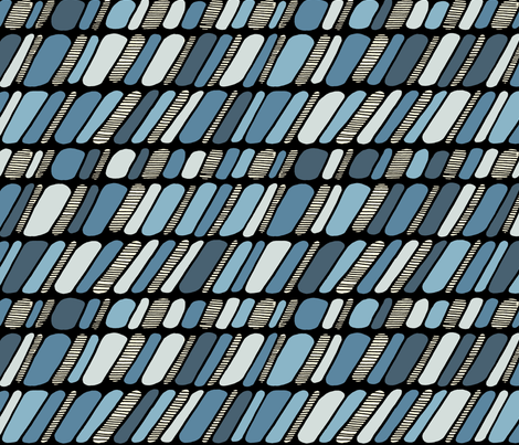 Cobble Stones - 90 degrees south fabric by janicesheen on Spoonflower - custom fabric