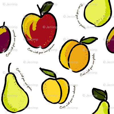 Ceci n'est pas une pomme