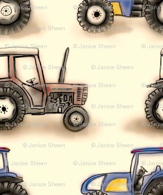Little tractors
