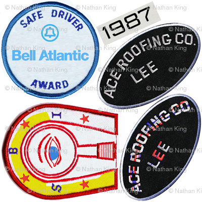 Doctor Who Ace Badges print