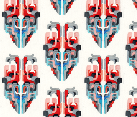 mask fabric by loren_leahy on Spoonflower - custom fabric