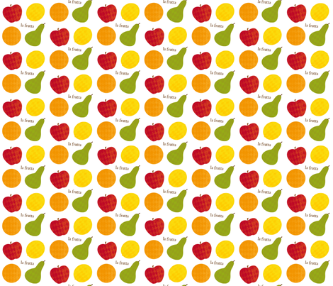 la frutta fabric by tortagialla on Spoonflower - custom fabric
