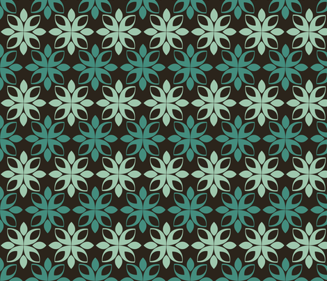 mint chocolate fabric by elvett11 on Spoonflower - custom fabric