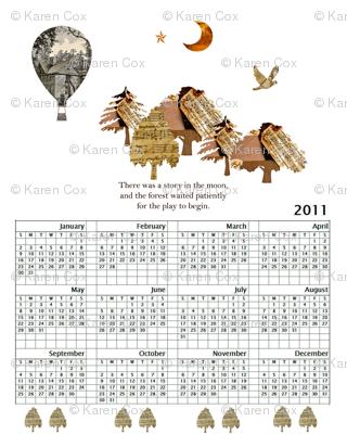 2011 Calendar small