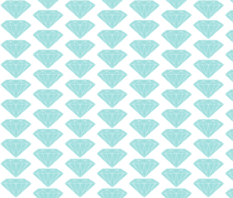 Diamonds fabric by ravynka on Spoonflower - custom fabric