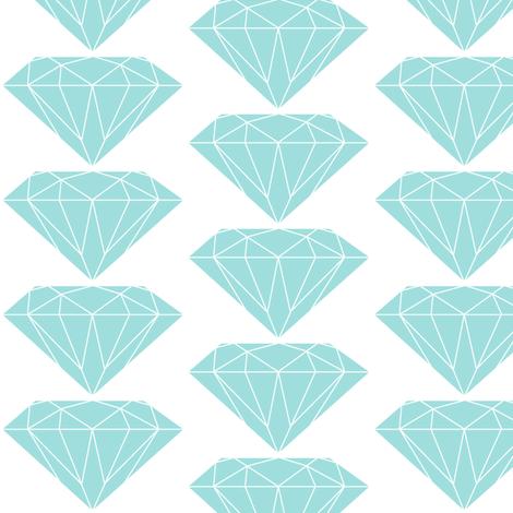 Diamonds fabric by ravynka on Spoonflower - custom fabric