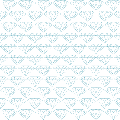 Diamonds small fabric by ravynka on Spoonflower - custom fabric