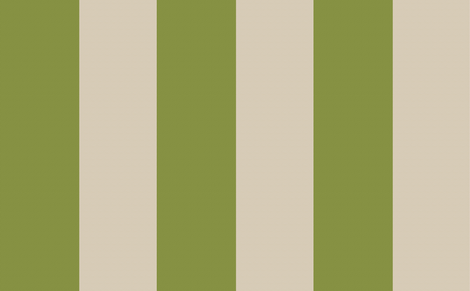 Stripe in Jungle and Linen