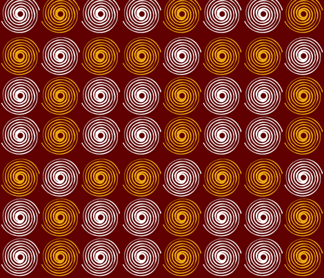 SWIRL CRAZY-Brown fabric by tgraphics on Spoonflower - custom fabric