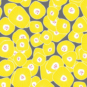 Daisies Sunny Yellow