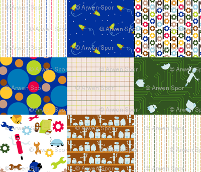 Zap Swatch Fat Quarter