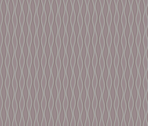 Waves (medium) fabric by leighr on Spoonflower - custom fabric