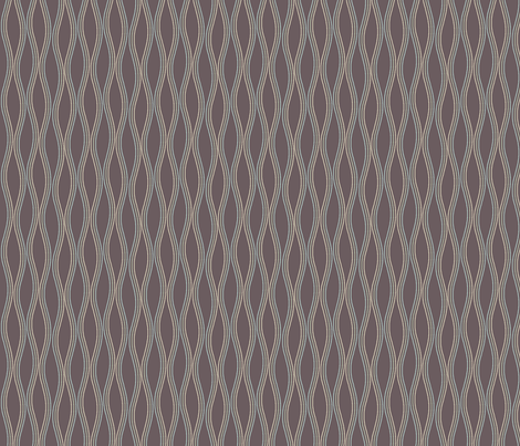 waves_3 fabric by leighr on Spoonflower - custom fabric