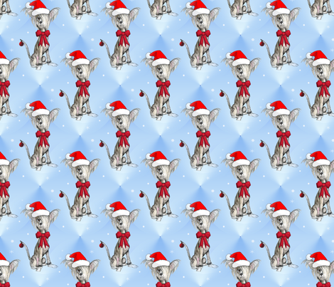 Merry Crestiemas fabric by crestedcrazy on Spoonflower - custom fabric